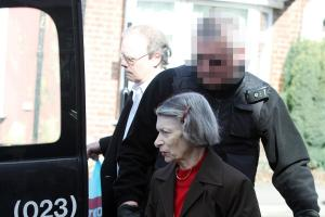 EVICTED: Elderly lady turfed out of home of five decades with her life's possessions in cases