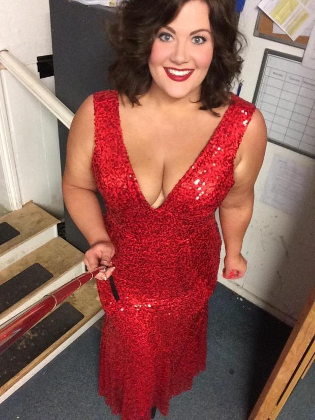 f8cf7a7dccc7 Curvy Hampshire singer vying to be sexy plus-sized underwear model ...