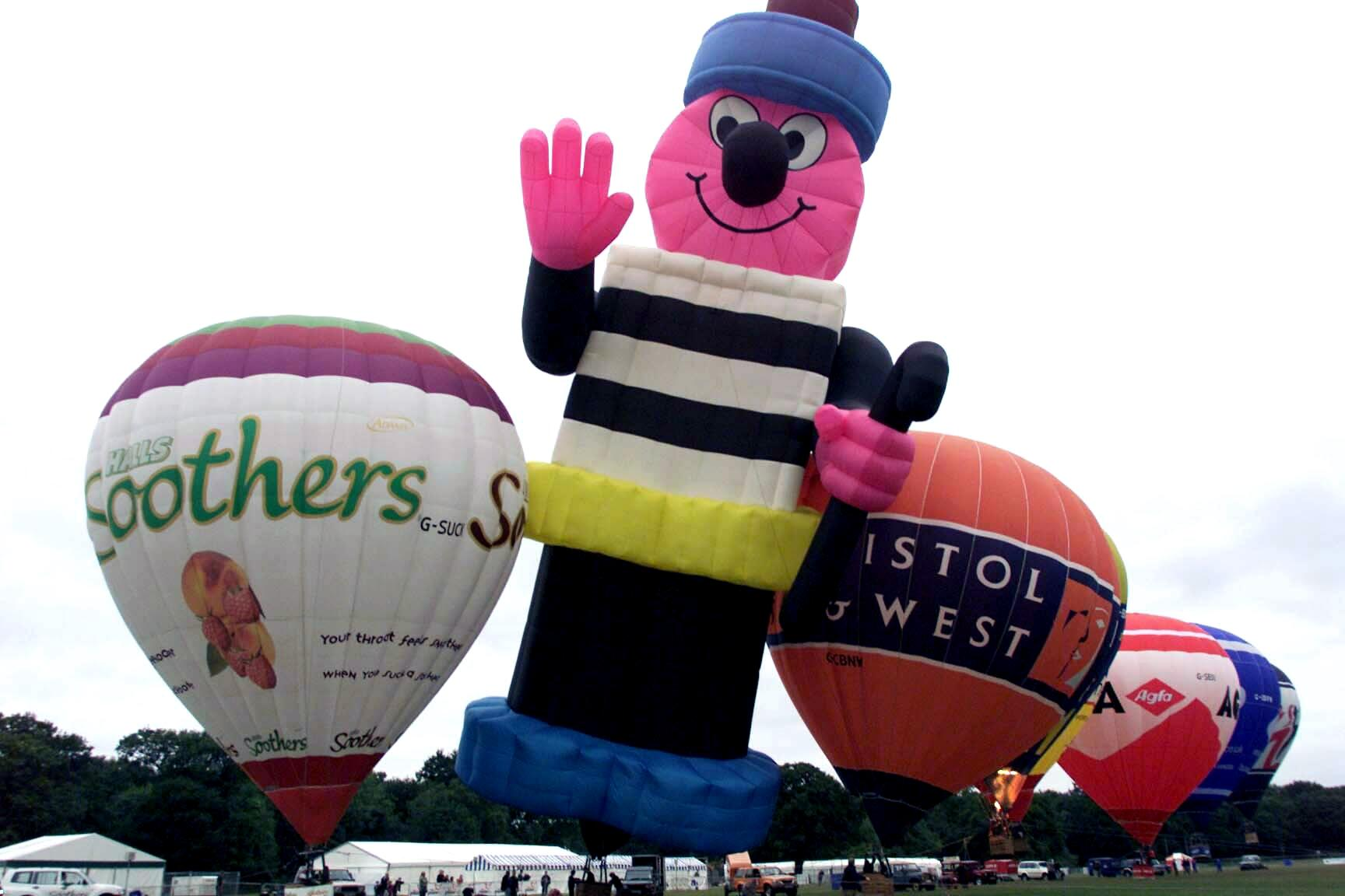 Southampton's Balloon and Flower Festival which took place on The Common