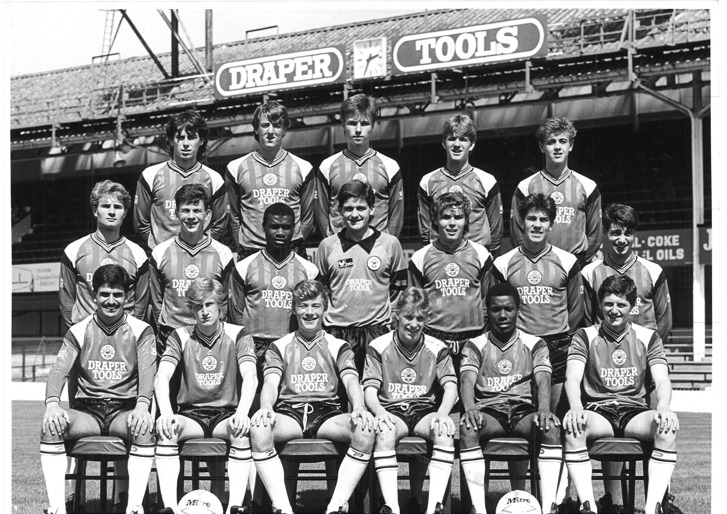 Francis Benali Remembers Southampton S 1986 87 Youth Team Daily Echo
