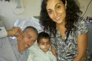 Ashya King with parents Brett and Naghmeh