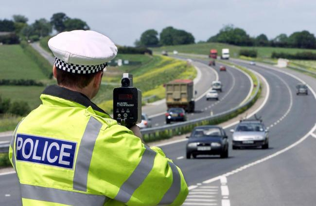 CAUGHT: Police catch thousands of Hampshire drivers speeding in one-week crackdown