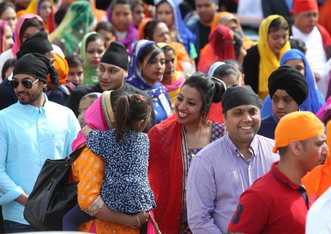 Sikh's celebrate Vaisakhi with colourful parade in Southampton