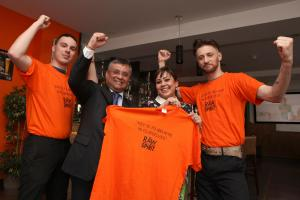 Campaign hots up to turn St Mary's orange and help Saints march on to Europe