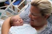 Mum Natasha Cox with son Arlo