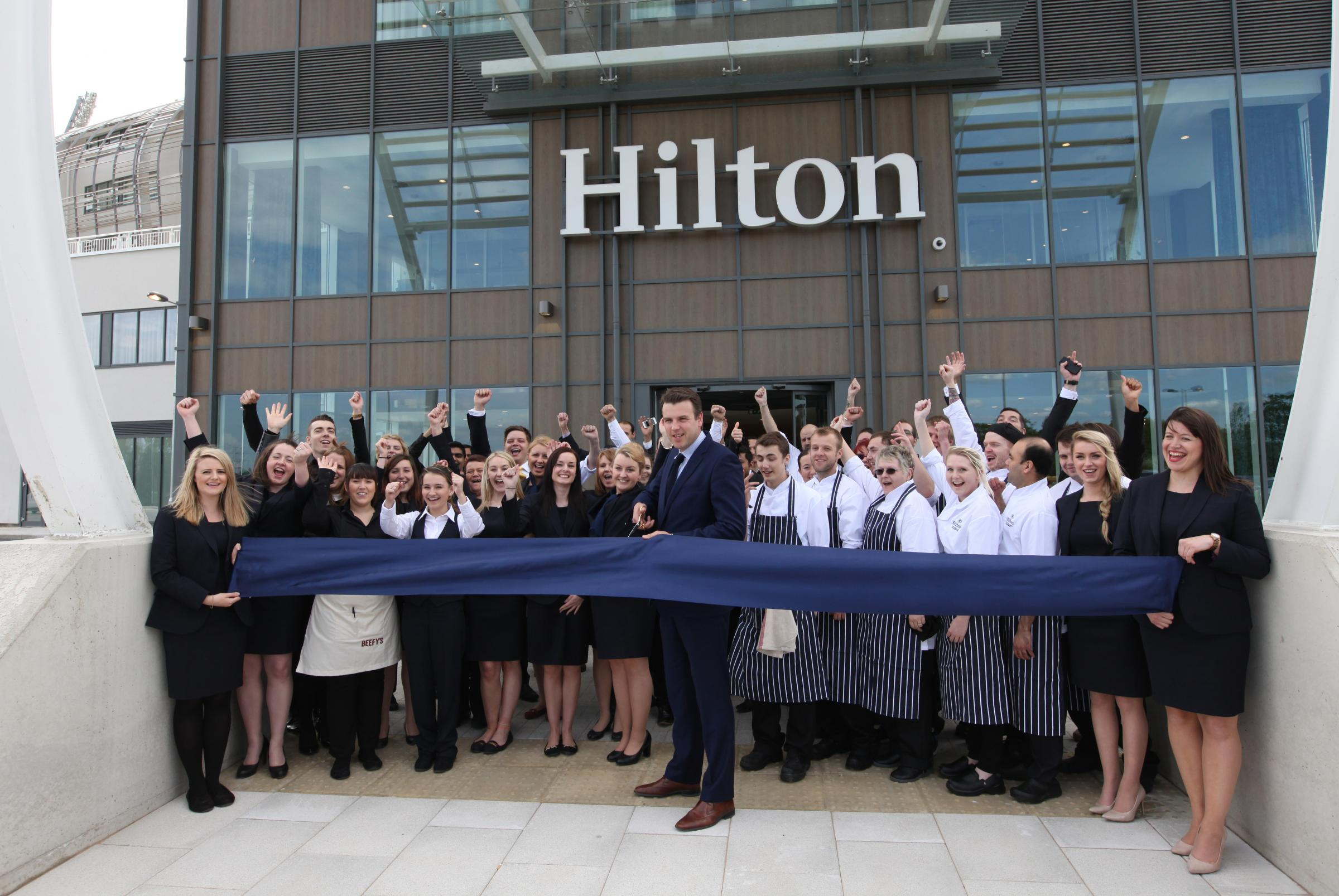 The Hilton Hotel At Ageas Bowl In West End Has Officially Opened Its Doors
