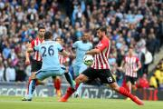 Graziano Pelle in action at Manchester City