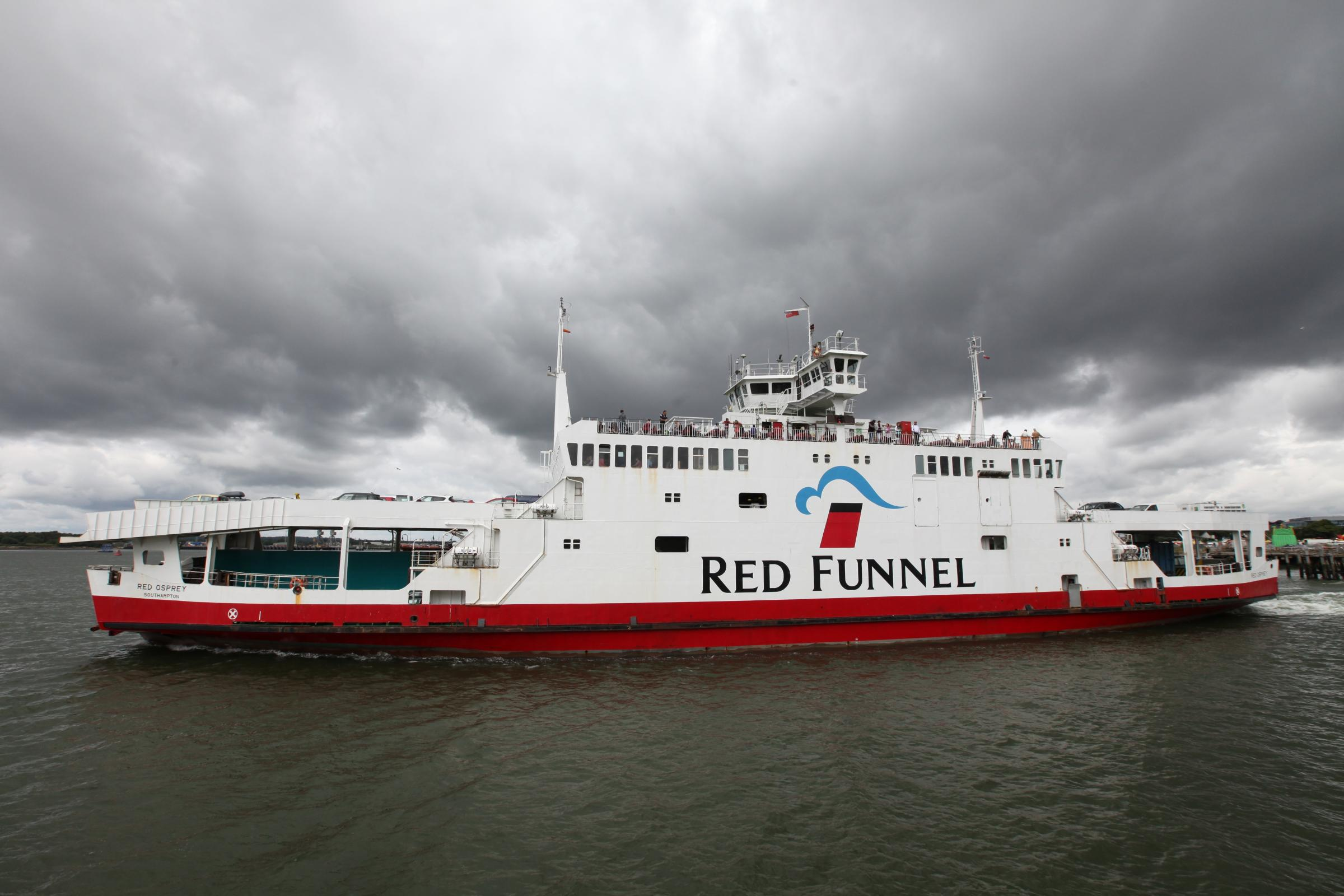 Arrest on ferry after 'domestic incident'