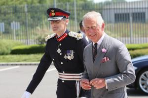 PHOTOS & VIDEO: Prince Charles visits Hampshire