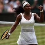 Daily Echo: Serena Williams, pictured, battled past Victoria Azarenka to set up a Wimbledon semi-final with Maria Sharapova