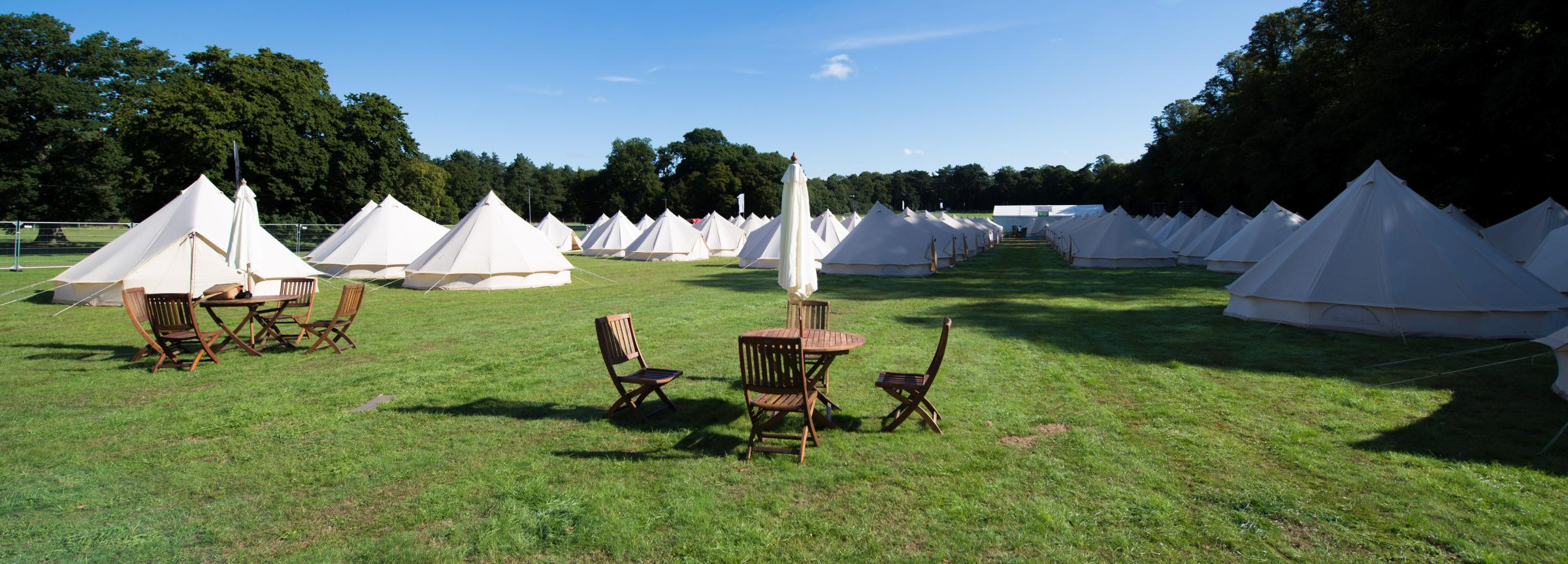 This week they have set up their own bell tent village at the Larmer Tree festival on the Wiltshire/Dorset border south west of Salisbury which is this ... & Get 15 per cent off a fantastic Bell Tent at this yearu0027s Larmer ...