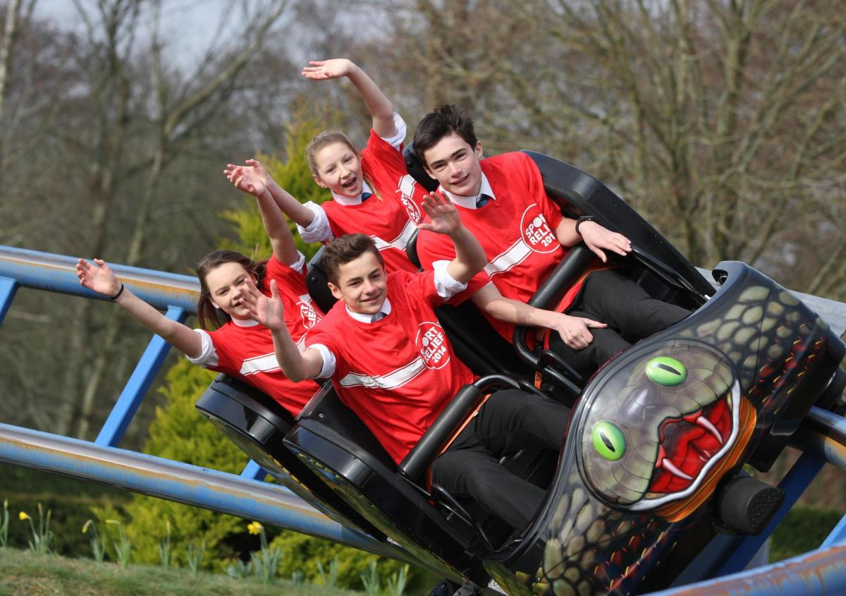 Roller Coaster Fans Kick Of Thrill Tour At Peppa Pig World Daily Echo