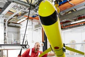 New £3m pioneering underwater robot centre completed