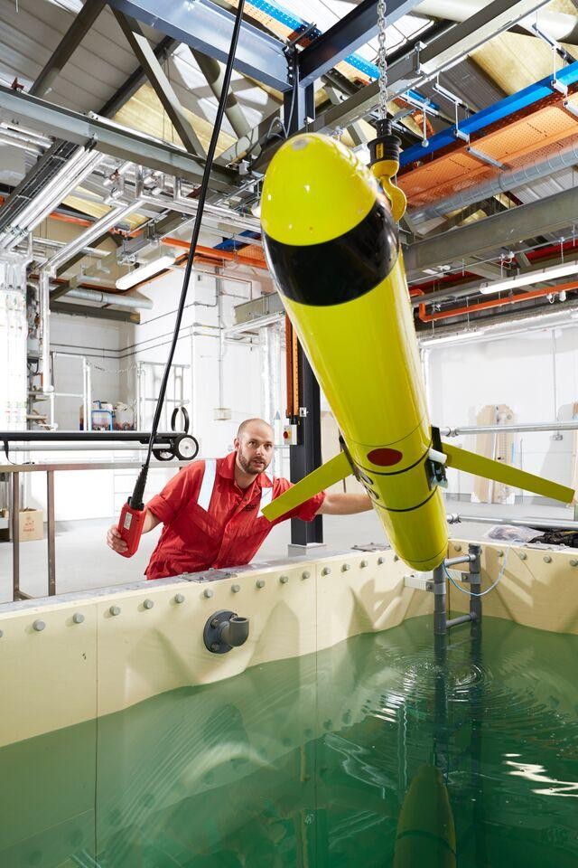 New 3m Underwater Robot Facility Completed In Southampton S National Oceanography Centre Daily Echo