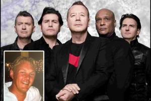 Stadium rockers Simple Minds didn't forget about super fan