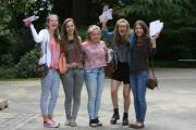 A-level students, like these from Peter Symonds College in Winchester, feel they need to do more to win a university place