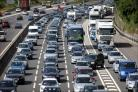 Lorry fire scare causes severe motorway delays