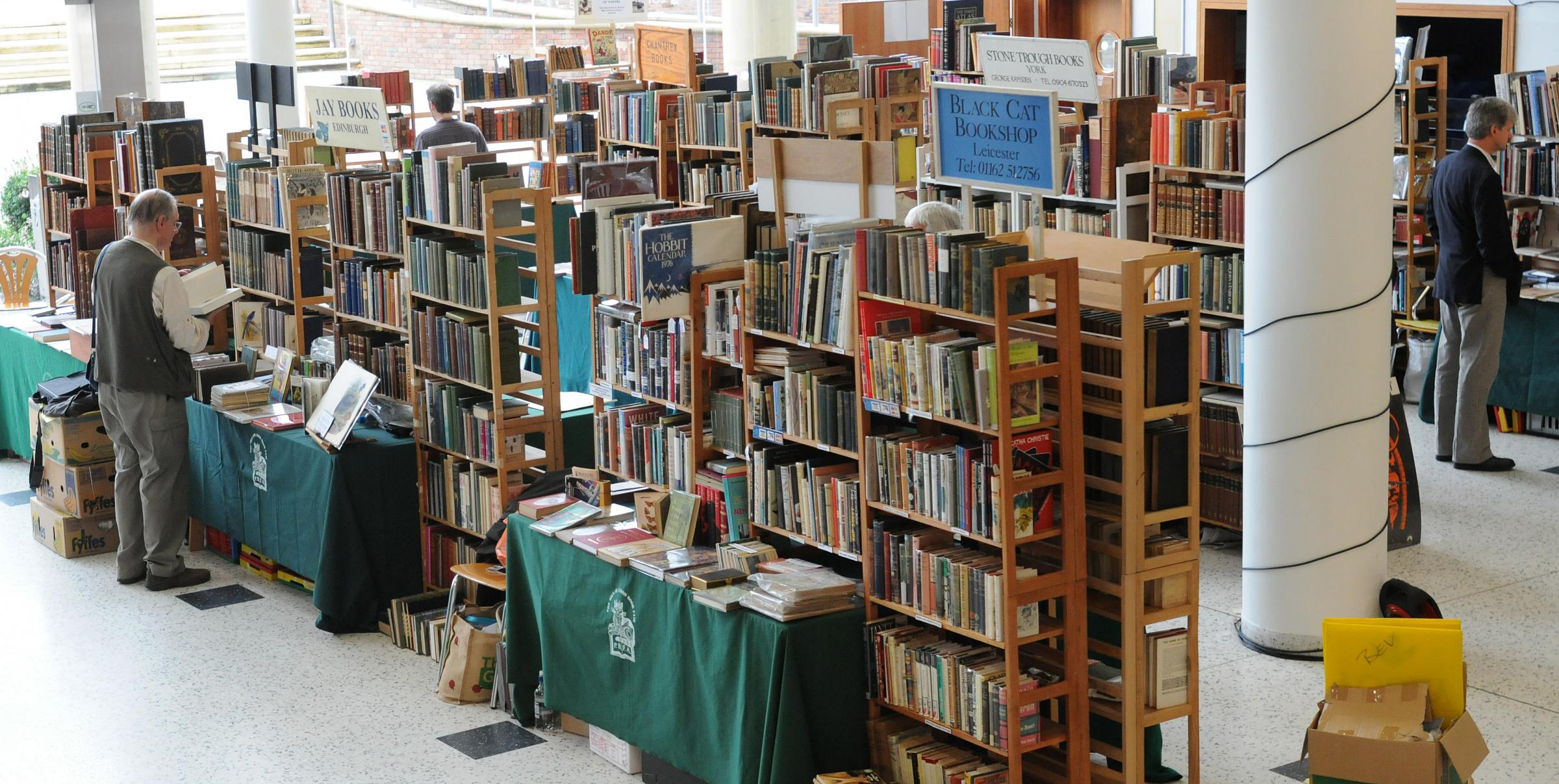 Rare and unique works showcased at York Book Fair   Daily Echo