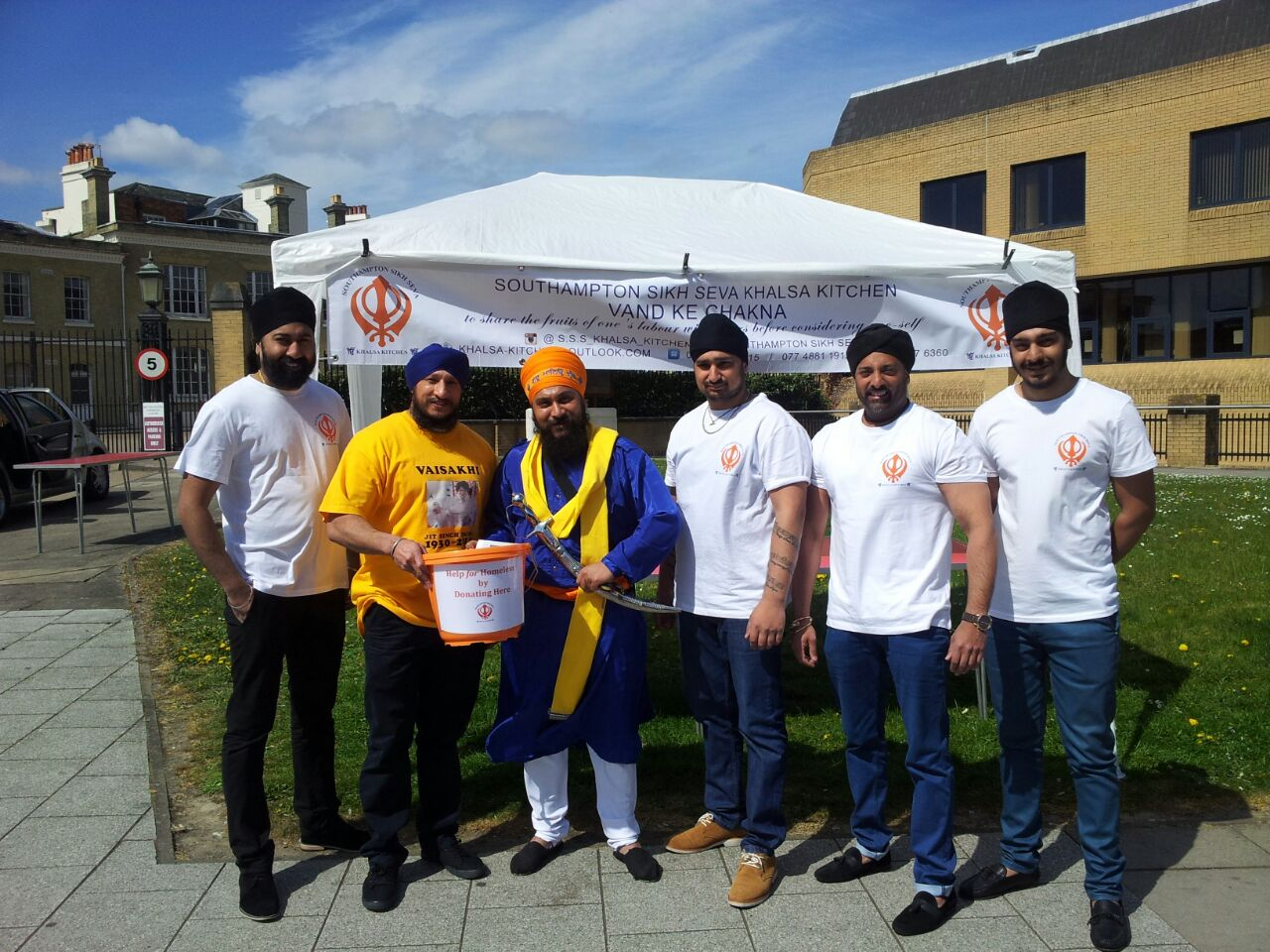 Southampton Sikhs to hand out meals for Langar week