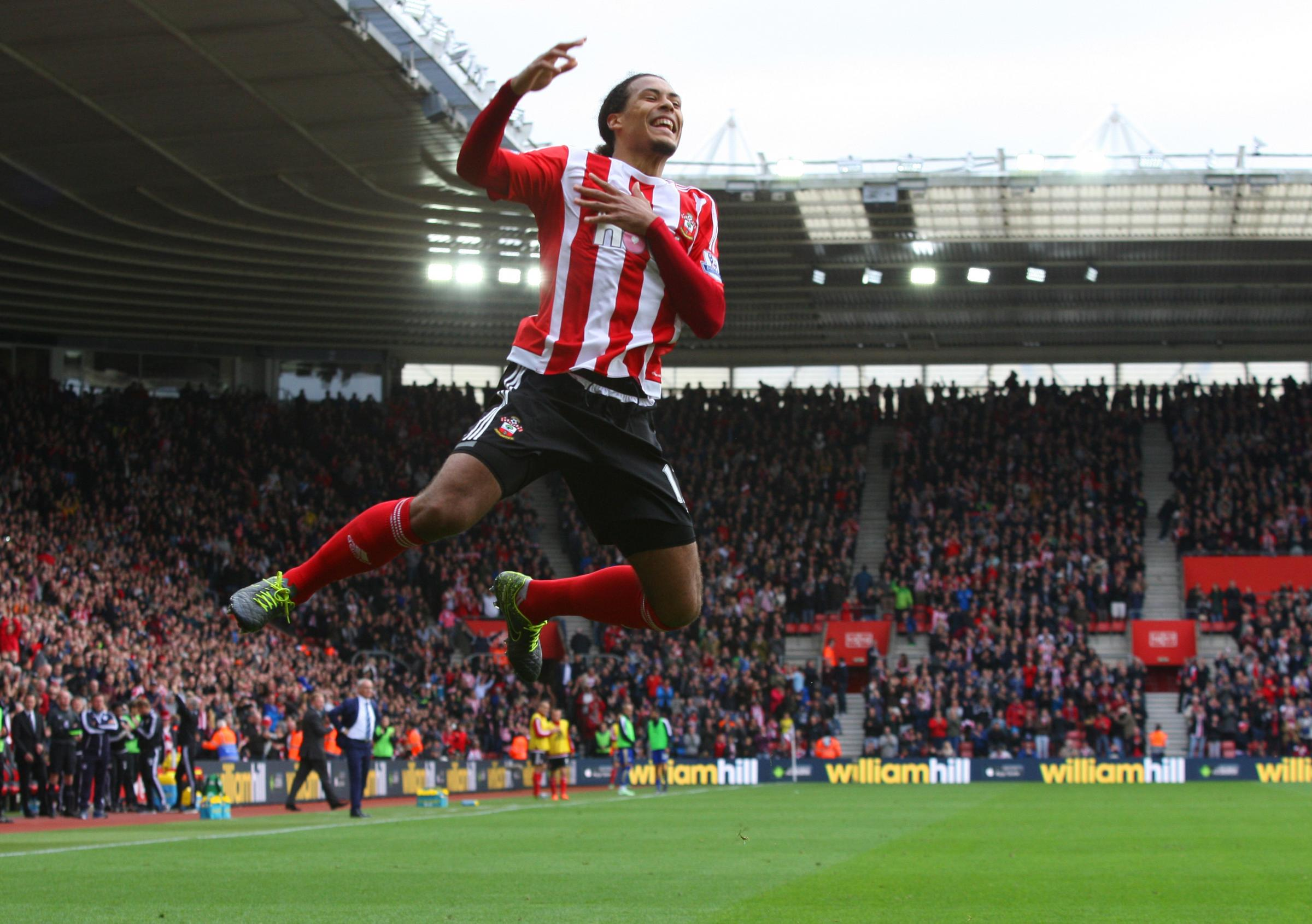 Southampton 2-2 Liecester City - in pictures