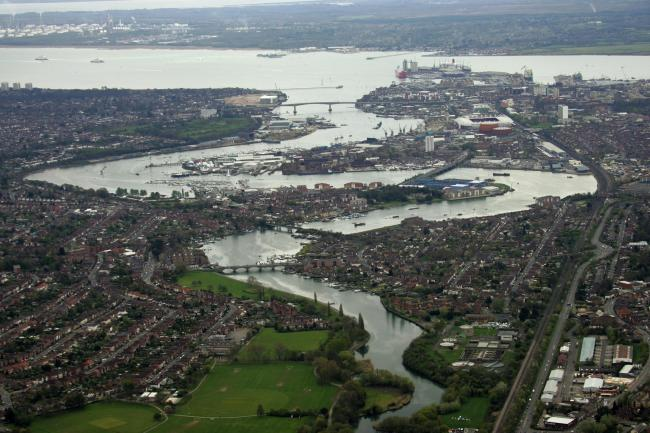 Southampton from above