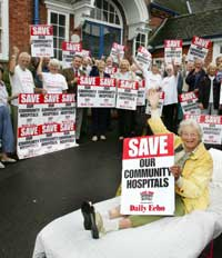 FLASHBACK: Protesters fight to save The Fenwick Hospital.