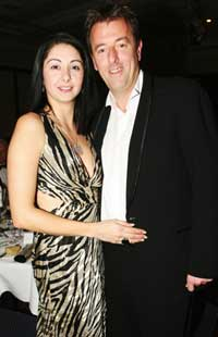 NO FUSS: Matt Le Tissier and his bride-to-be Angela Nabulsi have arranged a small ceremony for their marriage.