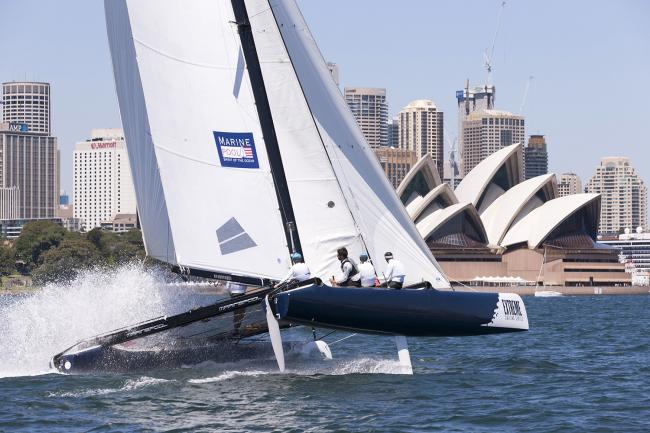 McMillan gets closer to Extreme Sailing Series trophy
