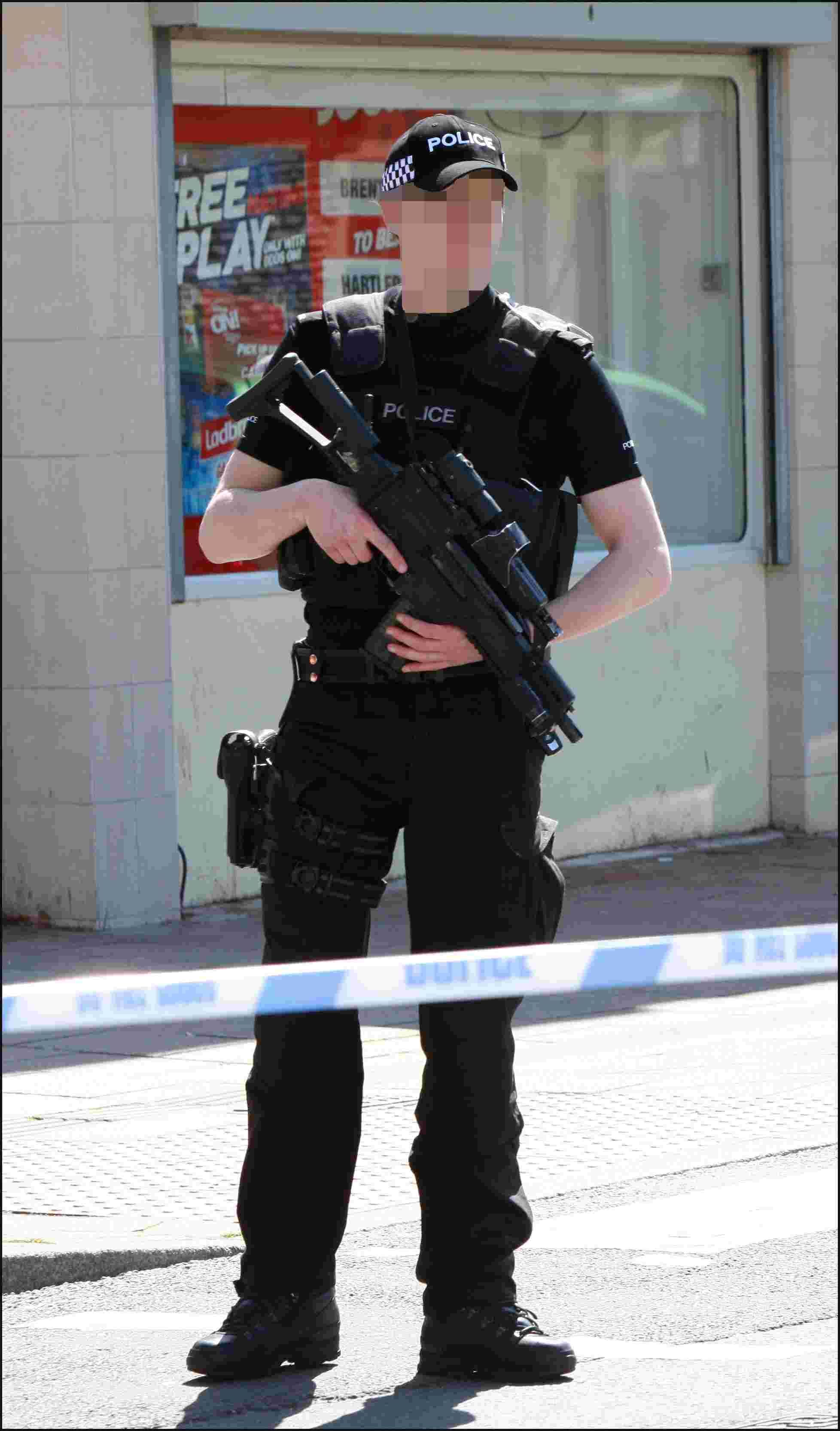 Could Hampshire police carry weapons in wake of terrorist attacks?