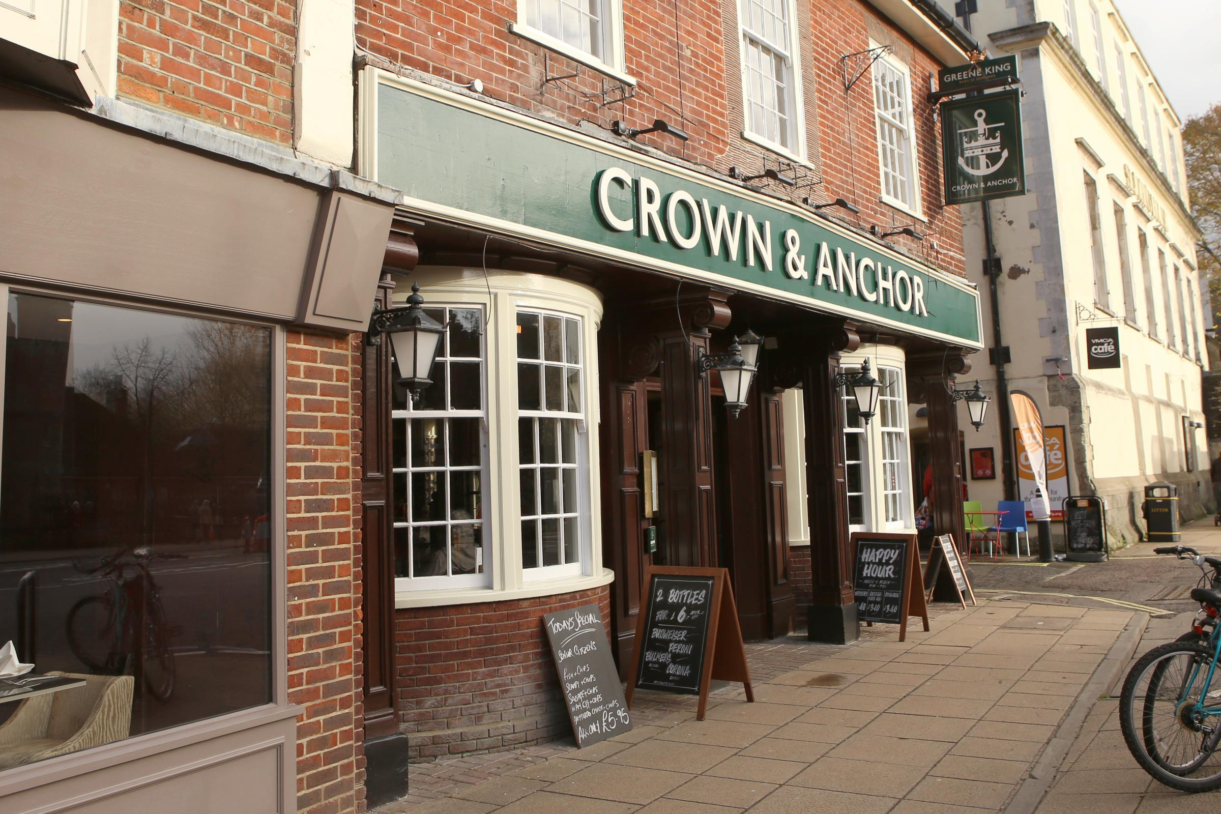 Crown and Anchor, Winchester