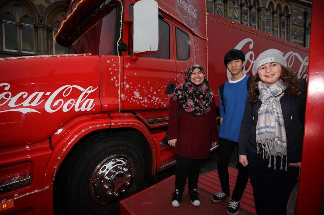 Coca-Cola truck set to stop in Southampton on UK tour