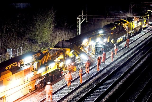 Thousands of homes will be affected by noisy rail works on