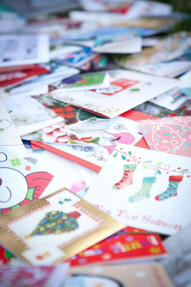 Recycle your Christmas cards at supermarket | Daily Echo