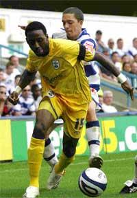 WINNING START: Saints debutant Jason Euell.