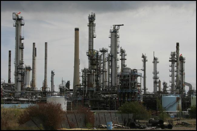 An investigation has been launched after a scaffolder fell 30ft at Fawley refinery.