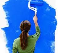A Lady Painter Decorator