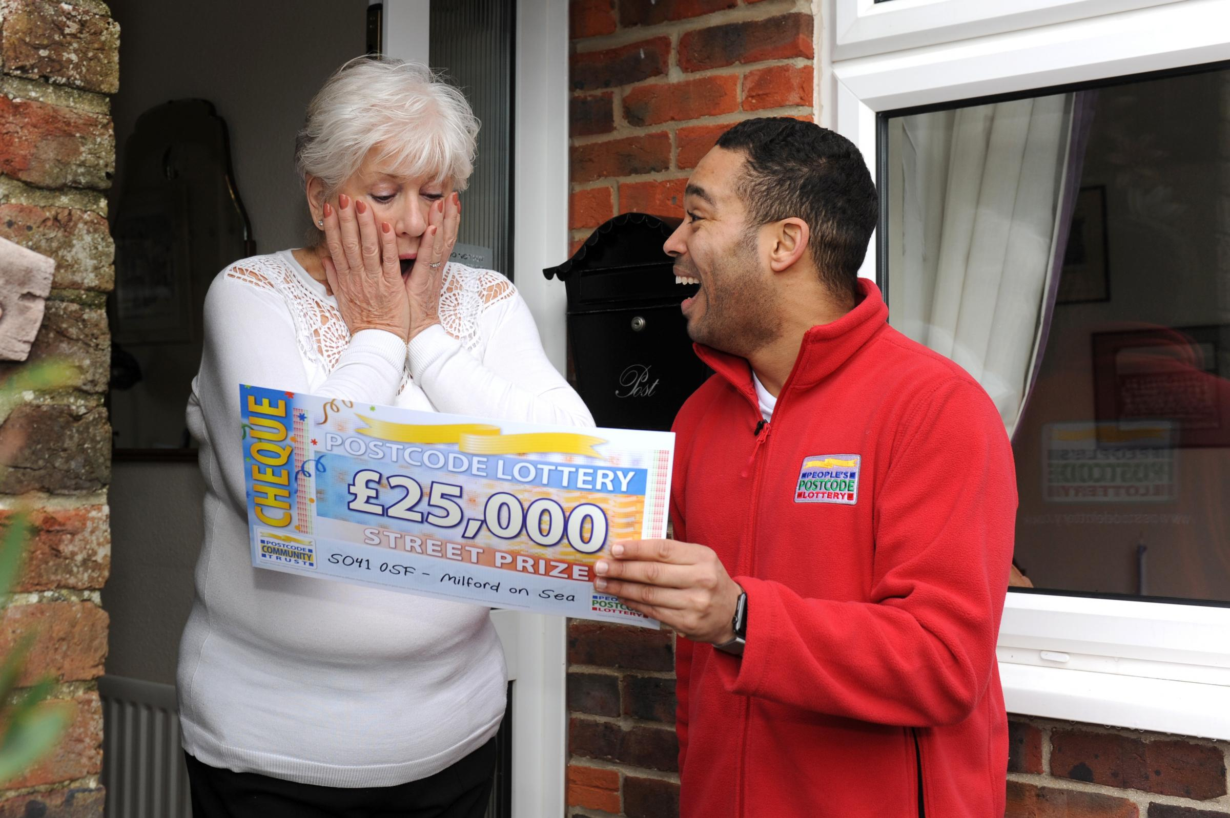 Peoples postcode lottery prizes california