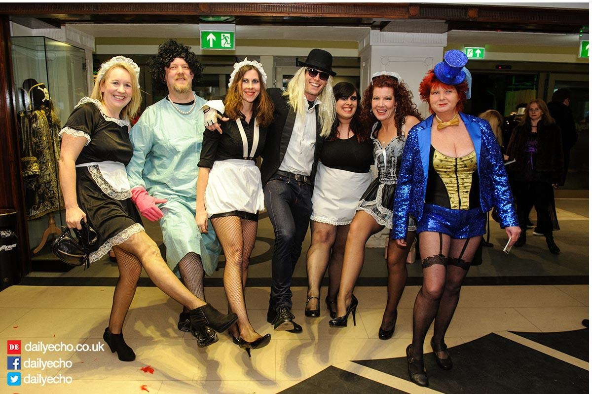 Rocky Horror fans donned wild and wonderful costumes at the