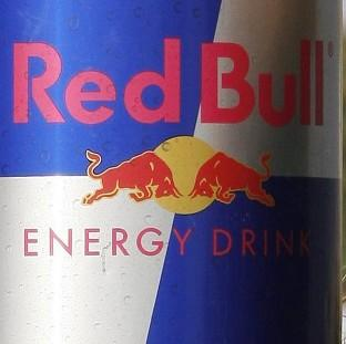 A can of Red Bull