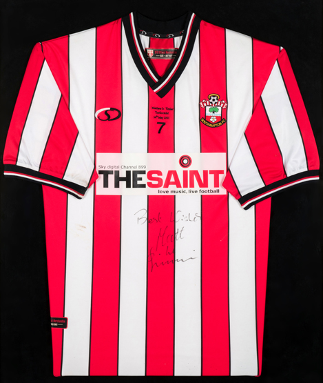 PHOTOS: Saints legends' shirts fetch thousands at auction - which were the best kits ever?