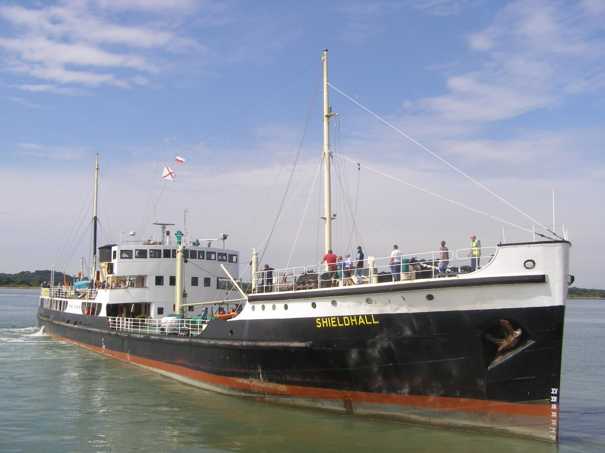 SS Shieldhall American Independence Day Jazz Cruise. Hampshire Food Festival Cruise.-