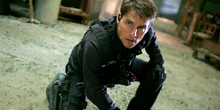 Shooting for Tom Cruise's Mission Impossible begins in Southampton water