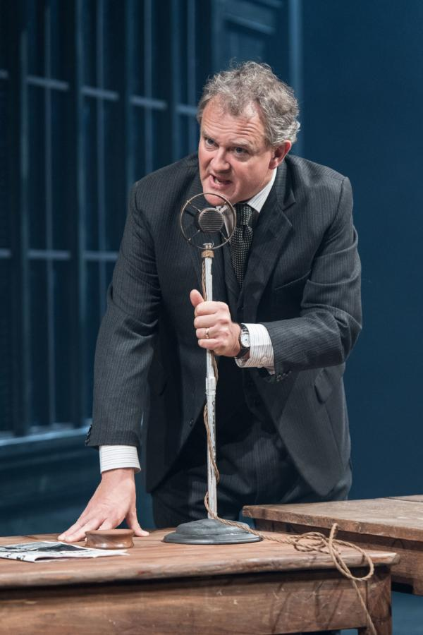 Hugh Bonneville in An Enemy Of The People at CFT. Photo: Manuel Harlan