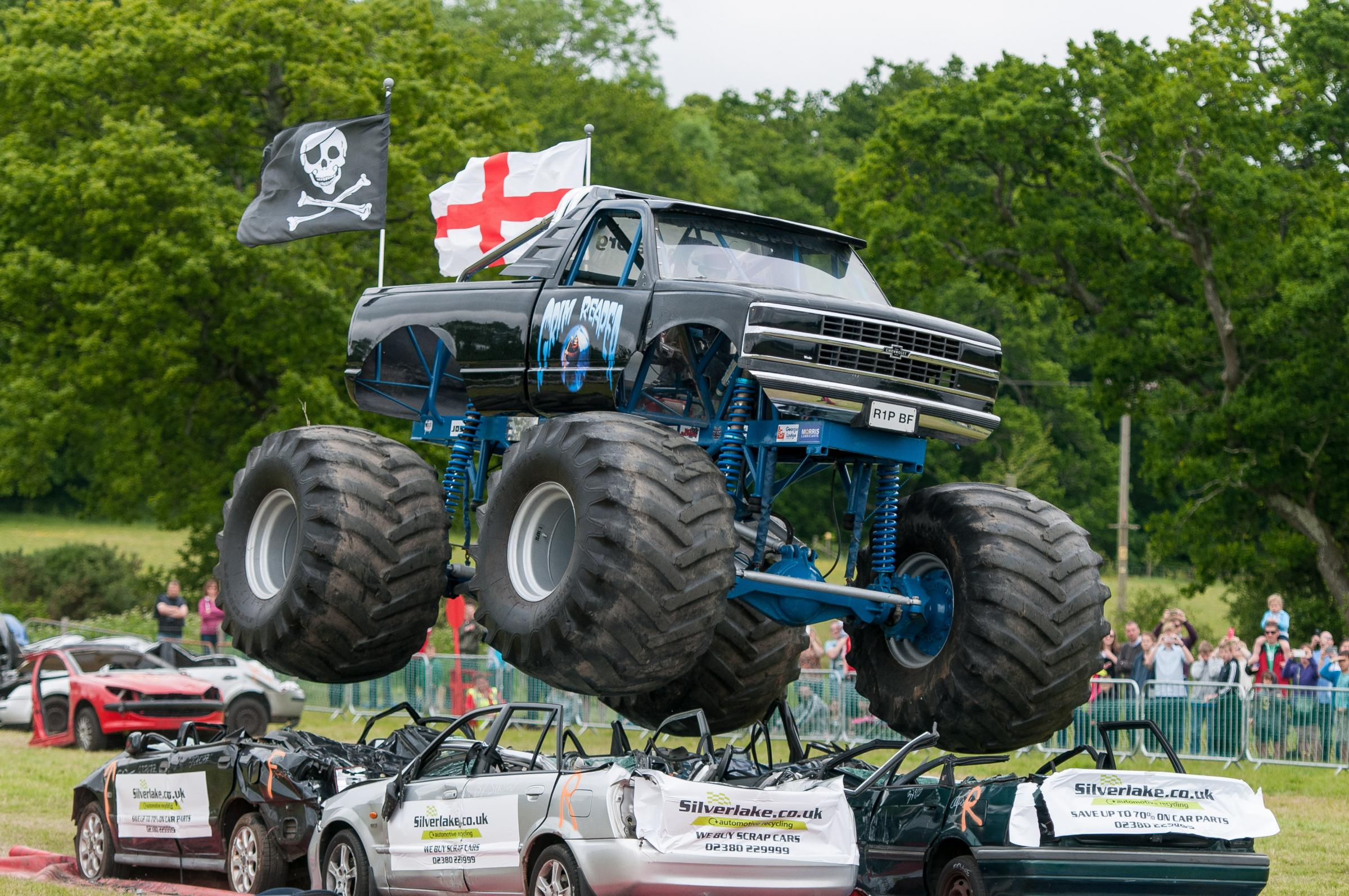 More Than Monster Trucks Clashed For Truck Mania At Beaulieu