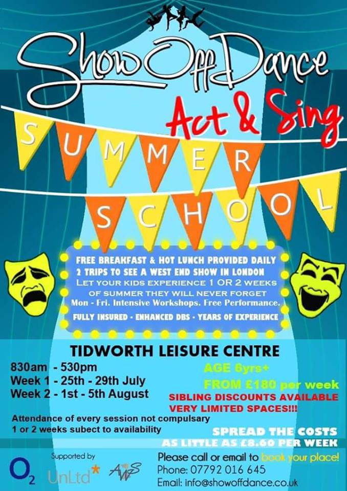 Showoff Dance, Act & Sing Summer School