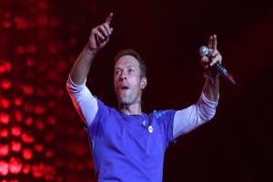 Coldplay dazzle the audience as they close Glastonbury