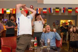 PHOTOS: Hampshire fans devastated by England's shocking Euro exit