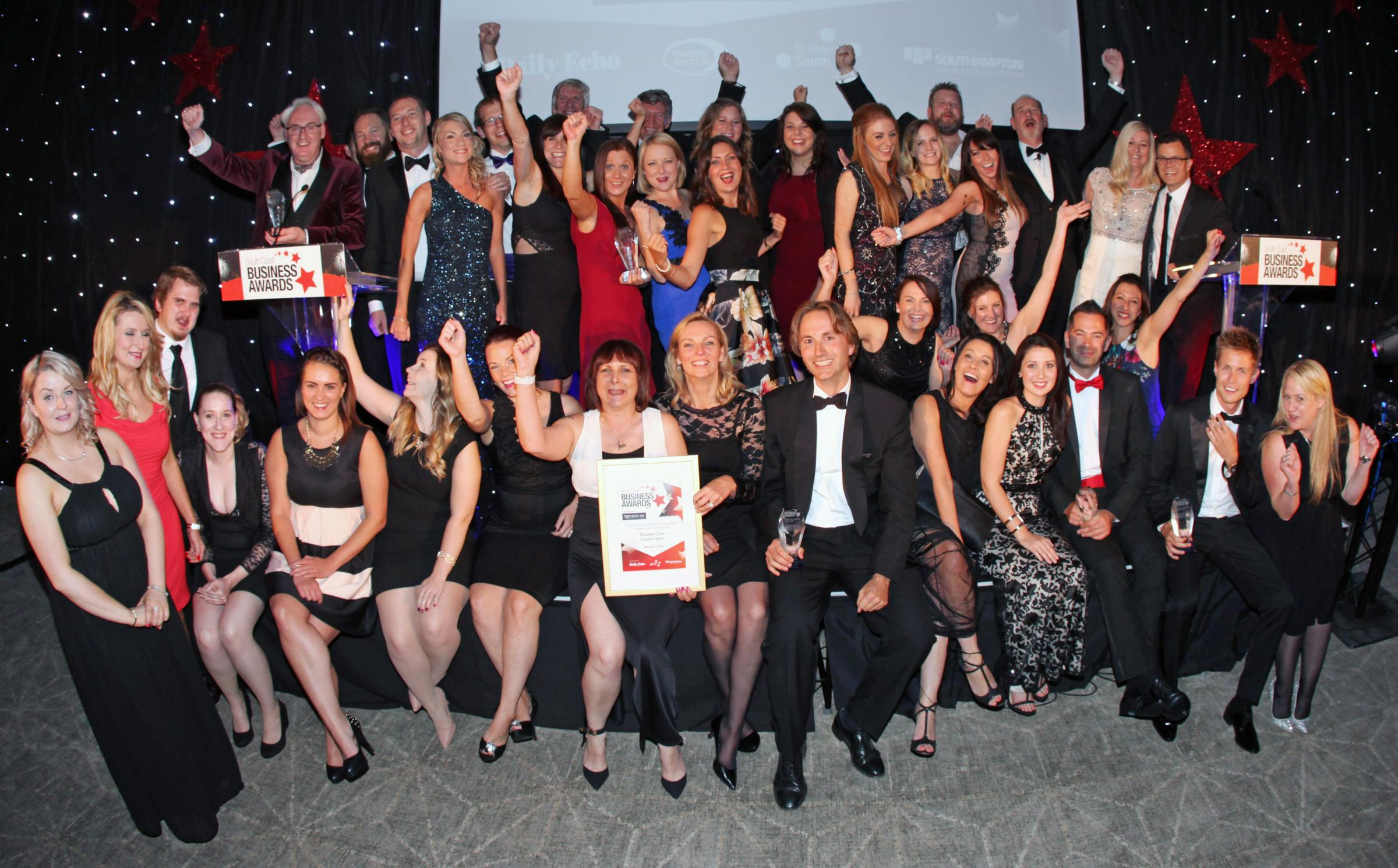 Daily Echo: South Coast Business Award winners 2016