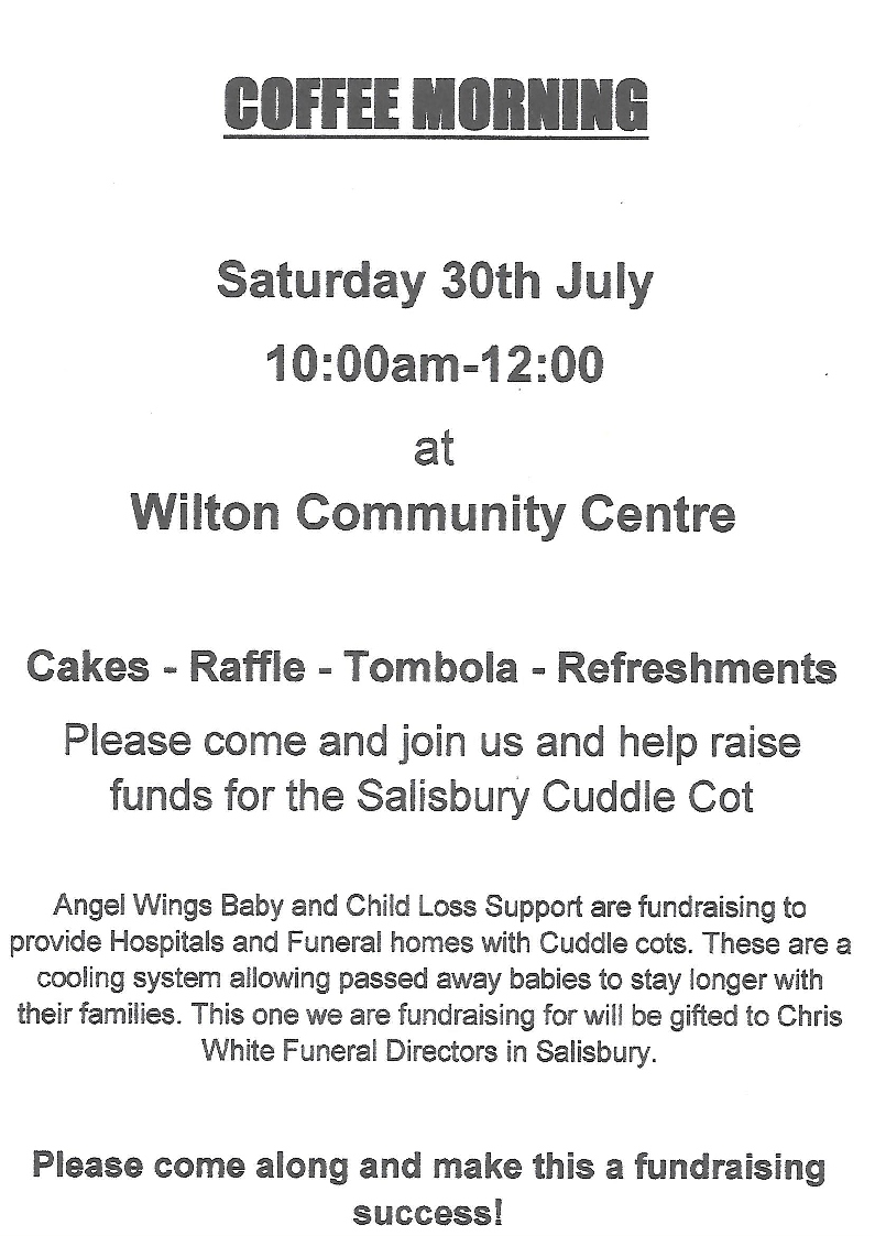 Coffee Morning / Fundraiser