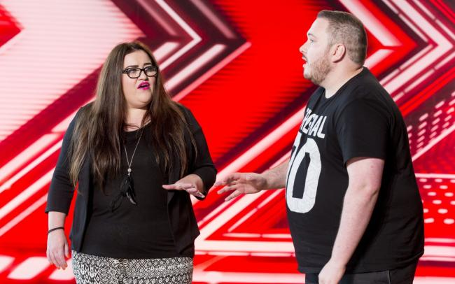 A couple sing Sex On Fire to X Factor judges | Daily Echo